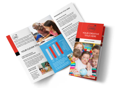 Language Learning Brochure Template preview
