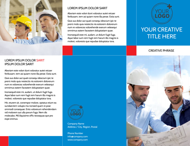 Engineering Consultants Brochure Template Preview 2
