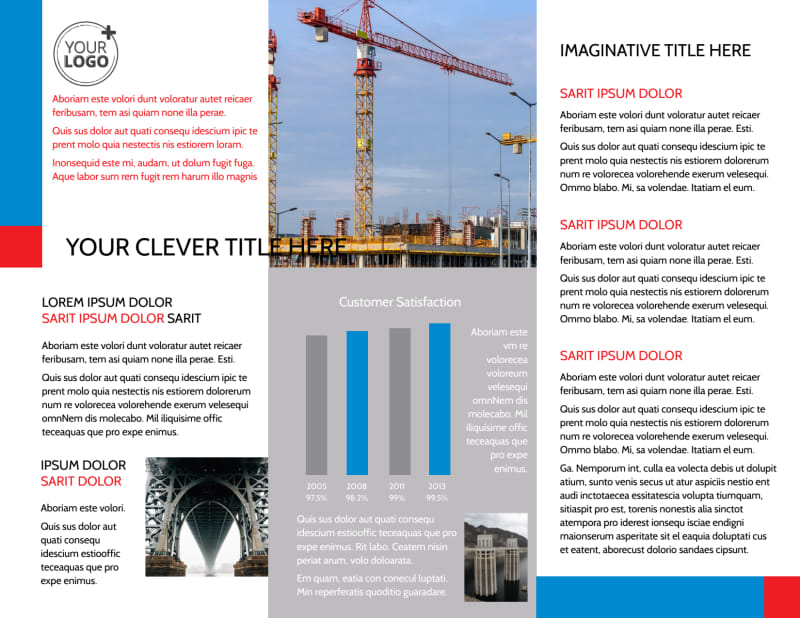 Engineering Consultants Brochure Template Preview 3