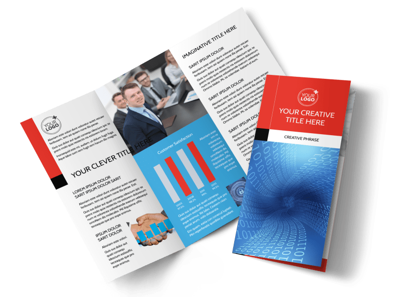 Data Analysis Consulting Brochure Template Preview 1