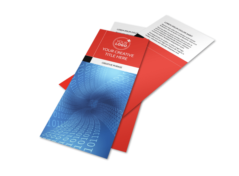 Data Analysis Consulting Flyer Template Preview 1