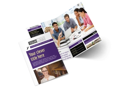 Education Foundation Brochure Template 2