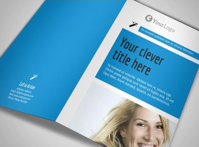 Teeth Whitening Brochure Teeth Whitening bi Fold