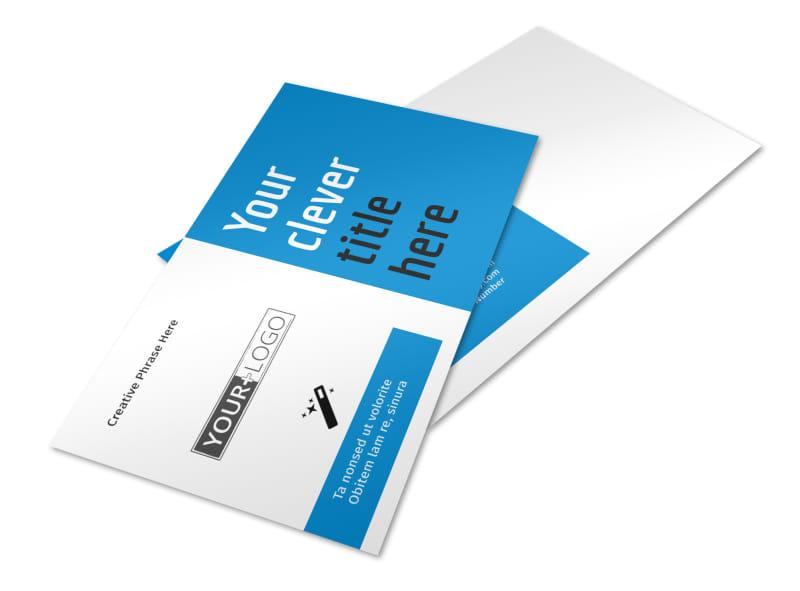 Dental Teeth Whitening Postcard Template 2