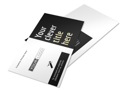 Decking Service Postcard Template 2 preview