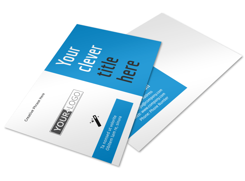 Dental Teeth Whitening Postcard Template Preview 1