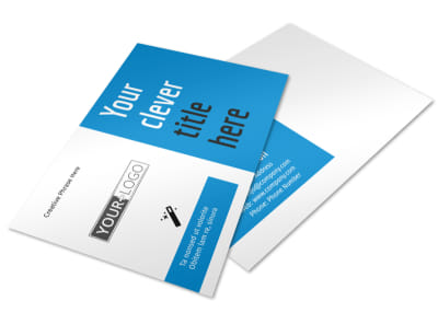 Dental Teeth Whitening Postcard Template