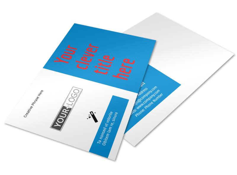 Automotive Repair Center Postcard Template Preview 4