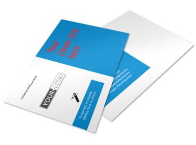 Automotive Repair Center Postcard Template preview