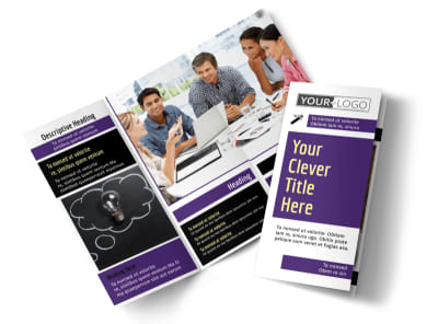 Education Foundation Tri Fold Brochure Template preview