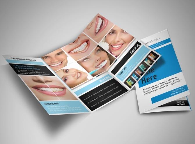 Teeth Whitening Brochure Teeth Whitening Tri Fold