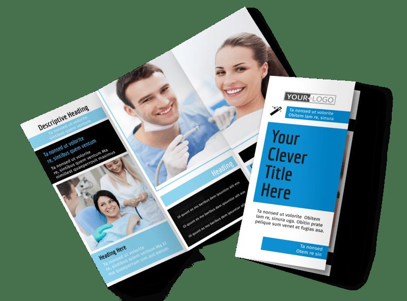 Dental Teeth Whitening Brochure Template Preview 1