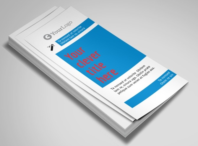 auto repair brochure template