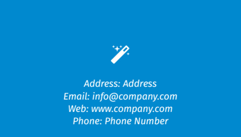 Automotive Repair Center Business Card Template Preview 3