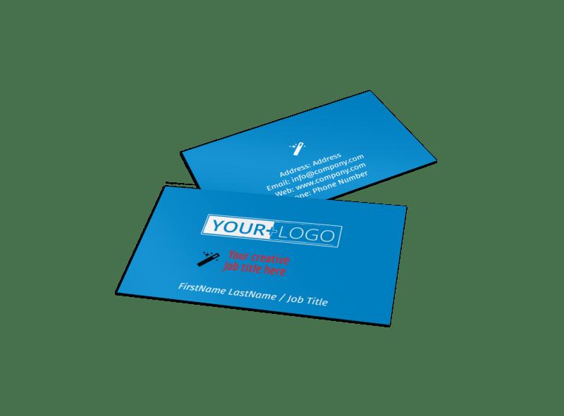 Automotive Repair Center Business Card Template Preview 1