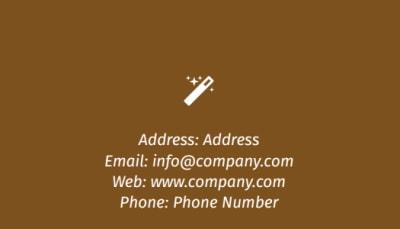Reflexology Business Card Template Preview 2