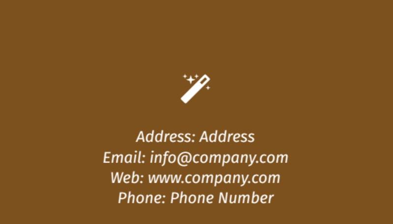 Reflexology Business Card Template Preview 3
