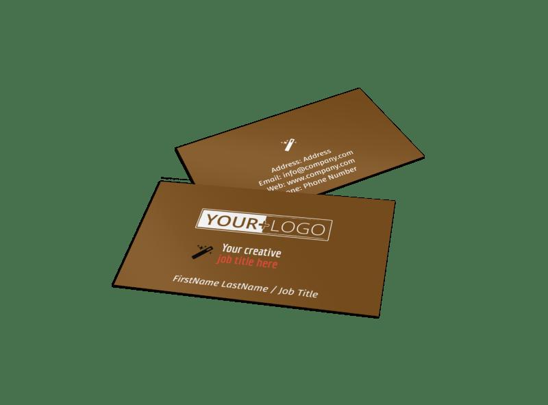 Reflexology Business Card Template Preview 1