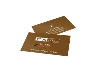 Reflexology Business Card Template