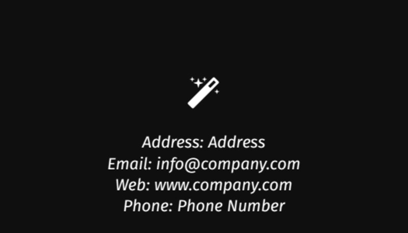 Decking Service Business Card Template Preview 3