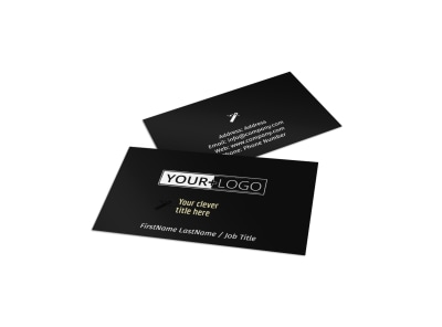 Decking Service Business Card Template preview