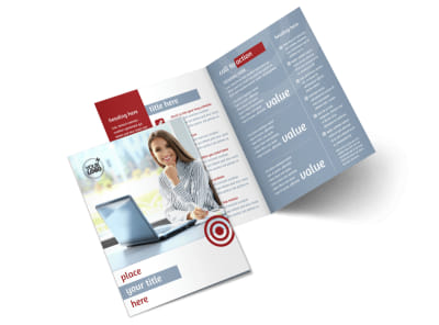 Web Developers Bi-Fold Brochure Template 2