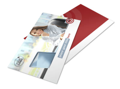 Web Developers Postcard Template 2