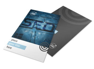 SEO Conference Flyer Template 3