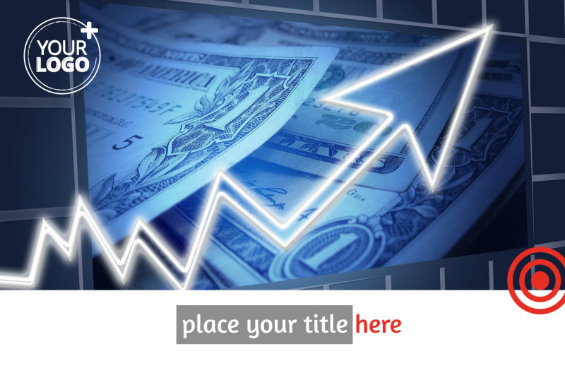 Financial Advisor Postcard Template Preview 2