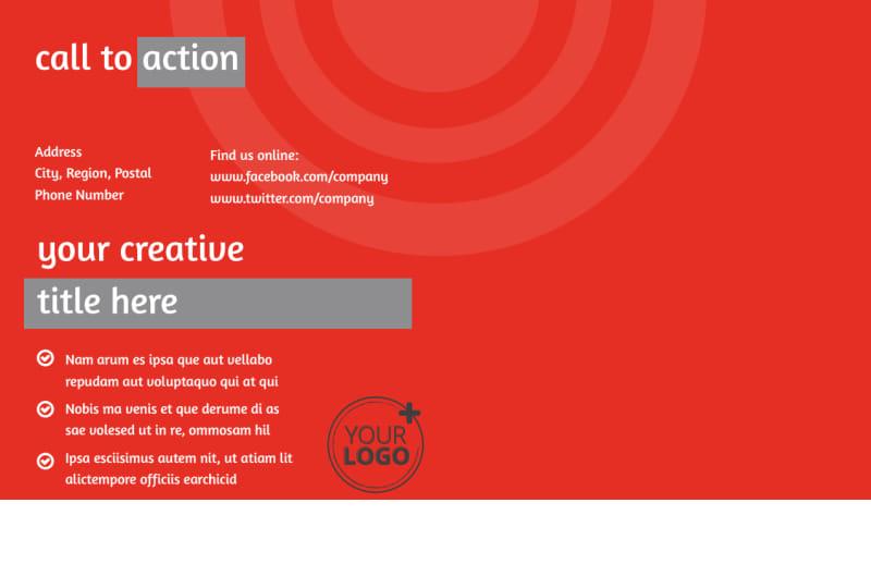 Financial Advisor Postcard Template Preview 3