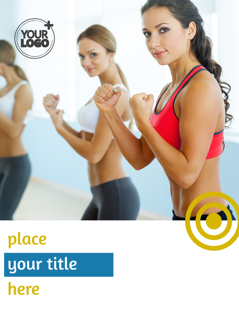 Core Fitness Gym Flyer Template Preview 2