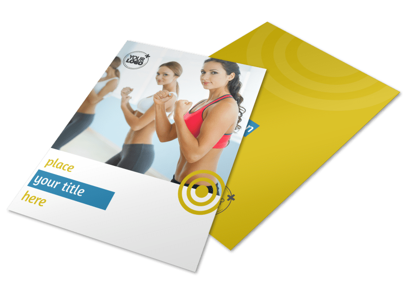 Core Fitness Gym Flyer Template Preview 1