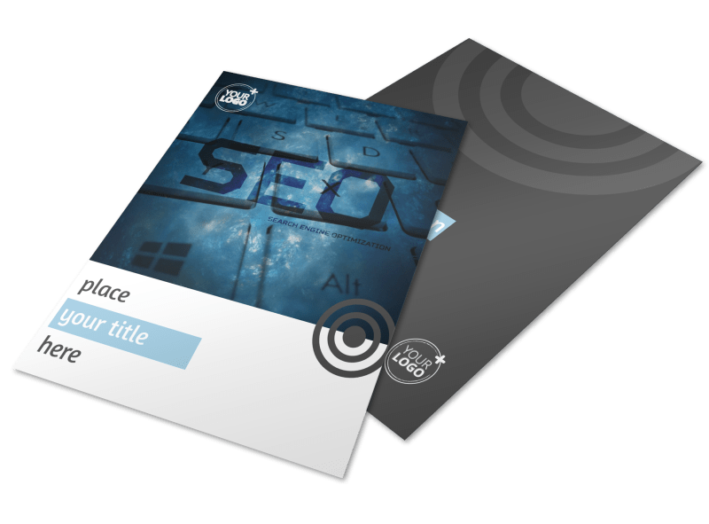 SEO Conference Flyer Template Preview 1