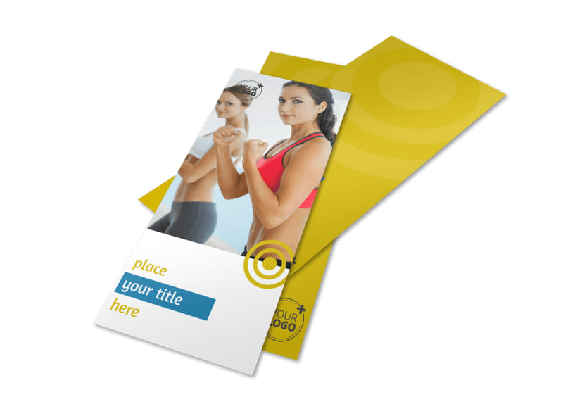 Core Fitness Gym Flyer Template Preview 4