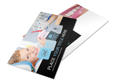 Dentist Office Postcard Template 2