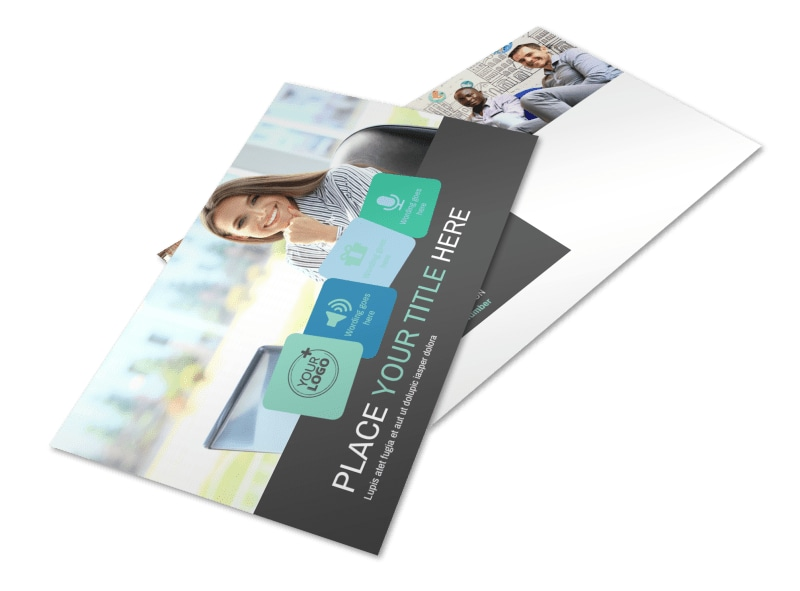 Marketing Agency Postcard Template 2