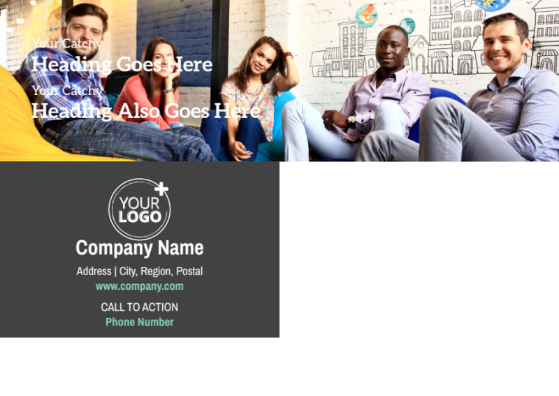 Marketing Agency Postcard Template Preview 3