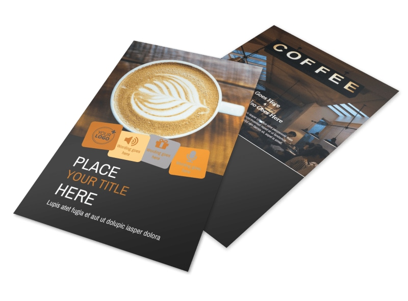Coffee Shop Flyer Template 3