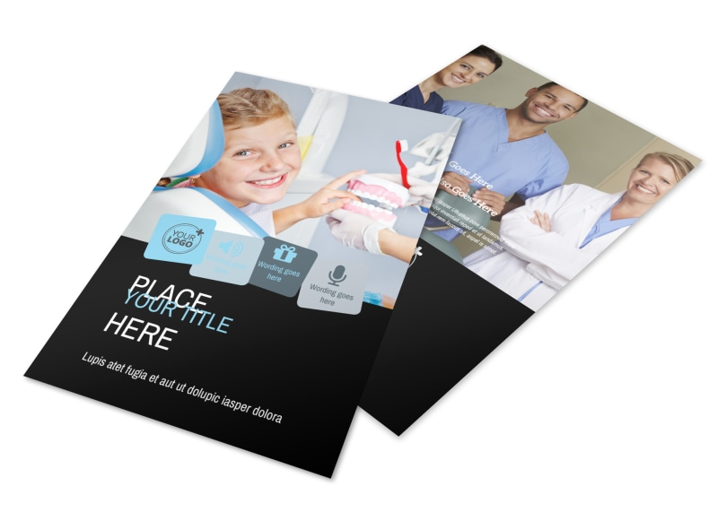 Dentist Office Flyer Template 3