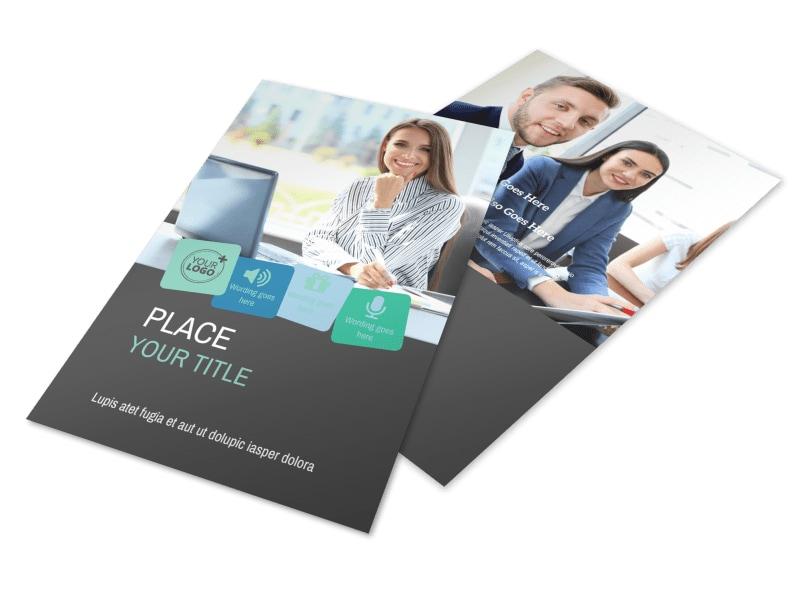Marketing Agency Flyer Template 3
