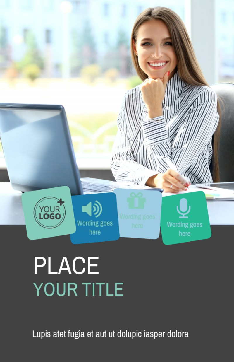 Marketing Agency Flyer Template Preview 2