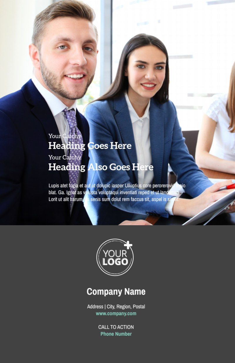 Marketing Agency Flyer Template Preview 3