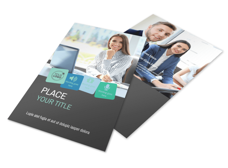 Marketing Agency Flyer Template Preview 1
