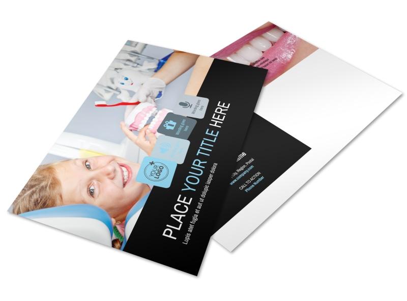 Dentist Office Postcard Template