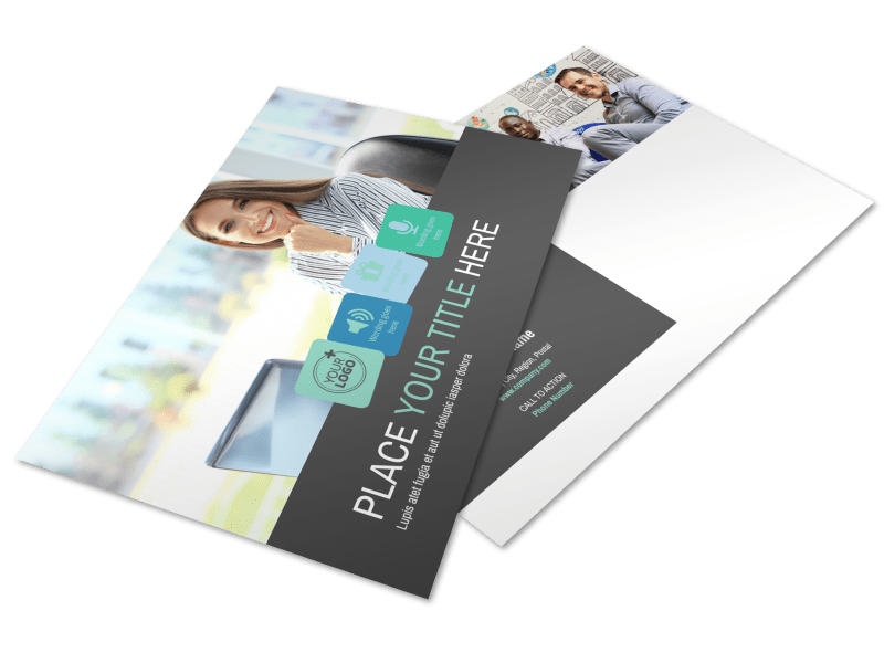 Marketing Agency Postcard Template Preview 1