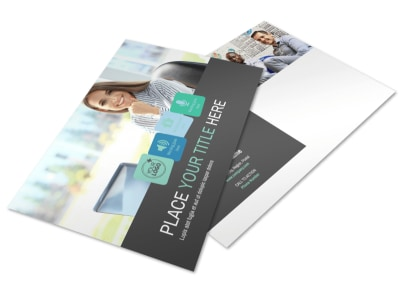 Marketing Agency Postcard Template preview