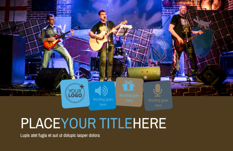 Book A Band Postcard Template Preview 2
