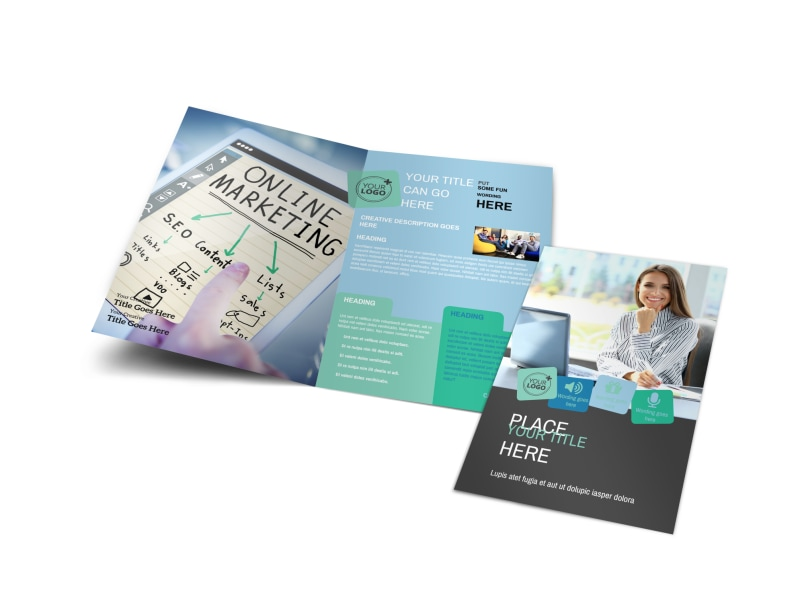 Marketing Agency Brochure Template Preview 4