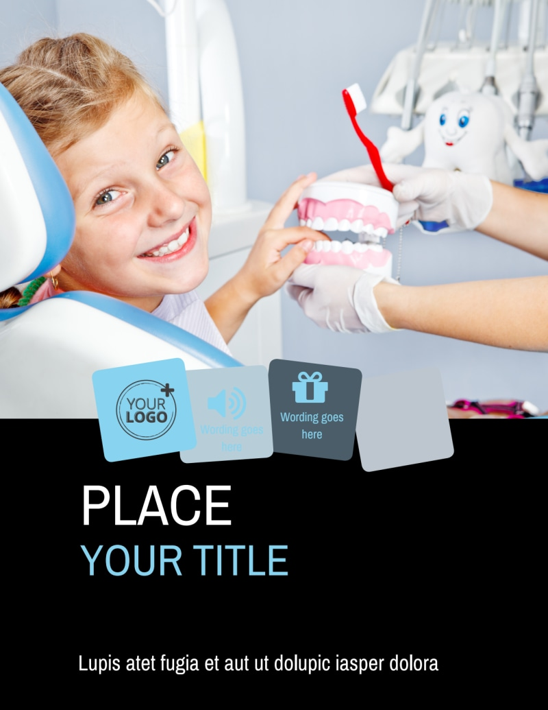 Family Dental Flyer Template Preview 2
