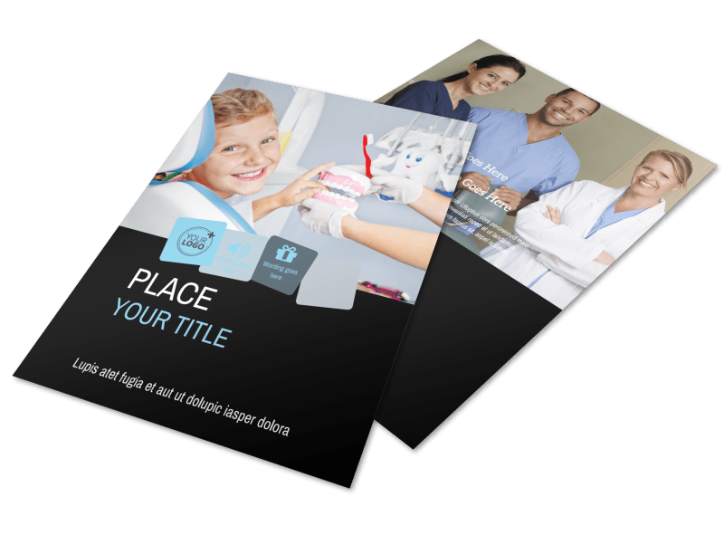 Family Dental Flyer Template Preview 1